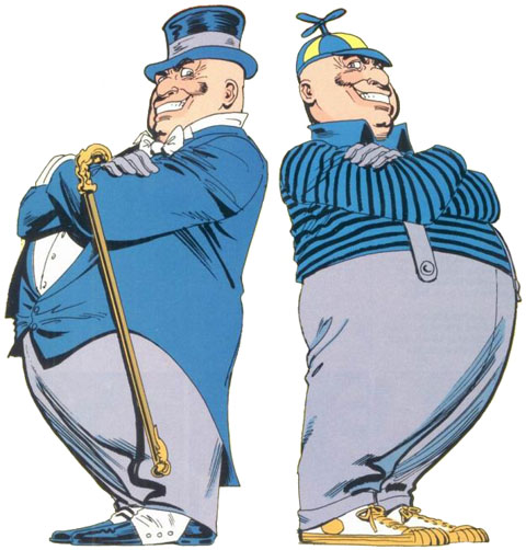 Tweedledum and Tweedledee
